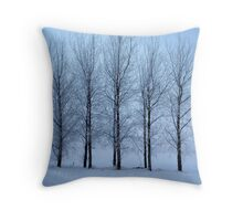 Winter Trees II Throw Pillow