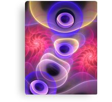 Mind blown, abstract fractal artwork Canvas Print