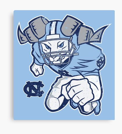 Charging Rameses Canvas Print