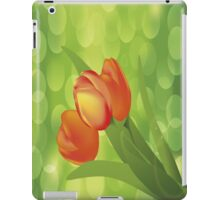 Orange Tulips iPad Case iPad Case/Skin