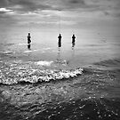 Three Anglers by Komang