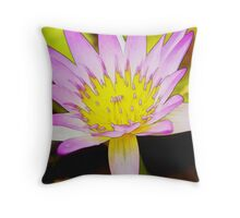 Holistic (Watercolor) Throw Pillow