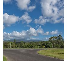 Country Road in Queensland Photographic Print