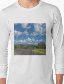 Country Road in Queensland Long Sleeve T-Shirt