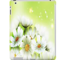 White Flowers iPad Case iPad Case/Skin