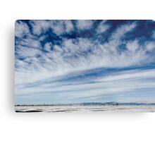 Colorado Clouds and Deep Blue Metal Print