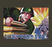 North Korean Propaganda - Big Shells by Tim Topping