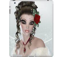 Brunette Woman iPad Case iPad Case/Skin