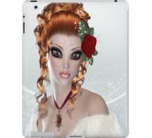 Redhead Woman iPad Case iPad Case/Skin