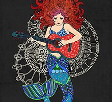 Musical Mermaid by micklyn