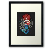 Musical Mermaid Framed Print