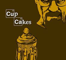 Walter white's cupcakes by cupcake-couture