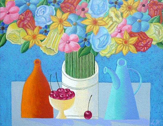 Cherries by Lana Wynne