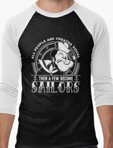 PROUD TO BE A SAILOR Men's Baseball ¾ T-Shirt