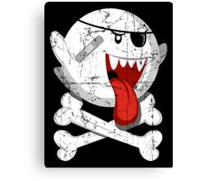 Pirate Boo! Canvas Print
