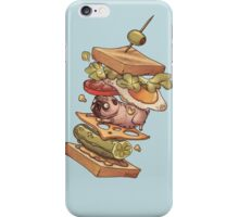 PUG_SANDWICH iPhone Case/Skin