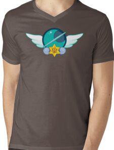 Sailor Neptune Crest Mens V-Neck T-Shirt