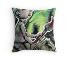 The Hunt (brainstemming.com) Throw Pillow