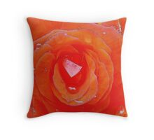 My Passion For You (Watercolor) Throw Pillow
