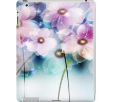 Pink and Purple Flowers iPad Case iPad Case/Skin