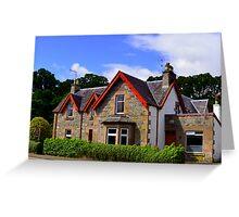 Scottish Home Greeting Card