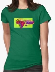 psycho-delic muscle car! Womens Fitted T-Shirt