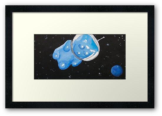 Gummy Bear in Space by jerasky