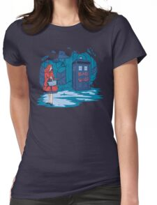Big Bad Wolf Womens Fitted T-Shirt