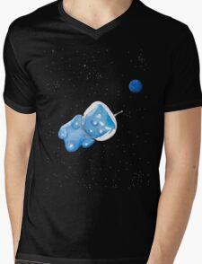 Gummy Bear in Space Mens V-Neck T-Shirt