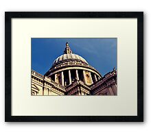St. Paul's Cathedral, London Framed Print