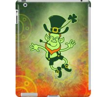 Irish Leprechaun Clapping Feet iPad Case/Skin