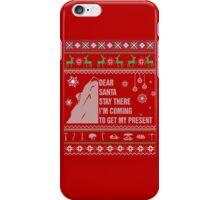Dear Santa iPhone Case/Skin