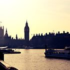 Big Ben and Houses of Parliament, London by NicholaNR