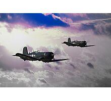 Navy Corsair Photographic Print