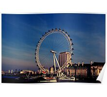 London Eye, London, UK Poster