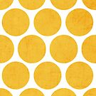 yellow polka dots by beverlylefevre
