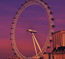 London Eye, London, UK by NicholaNR