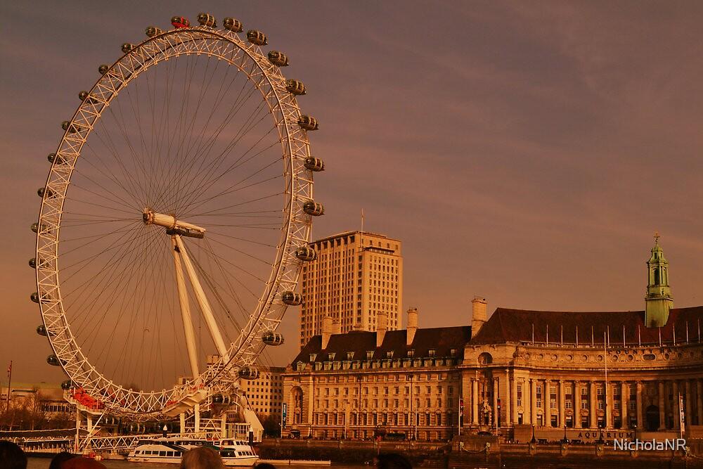 London Eye, London, UK by NicholaNR