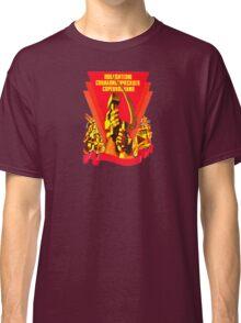 USSR Propaganda - Shield Classic T-Shirt