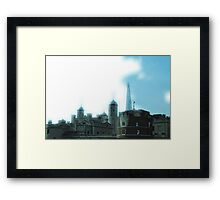 Old London meets New London Framed Print