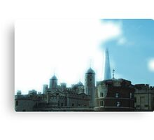 Old London meets New London Canvas Print