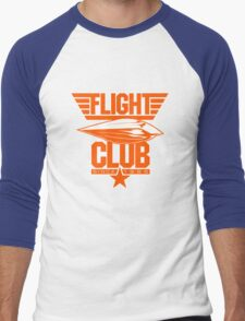Flight Club (New York Home) Men's Baseball ¾ T-Shirt