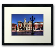Valladolid Town Hall Framed Print