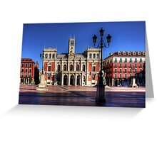 Valladolid Town Hall Greeting Card