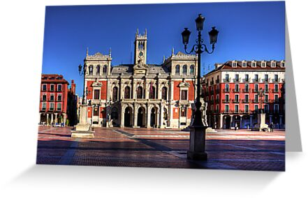 Valladolid Town Hall by Tom Gomez