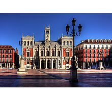 Valladolid Town Hall Photographic Print