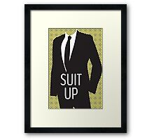 Suit Up Framed Print