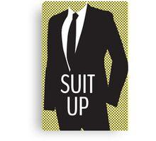 Suit Up Canvas Print