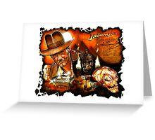 Indiana Jones: Fortune and Glory Greeting Card