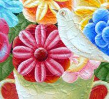 A Vase Of Flowers Sticker
